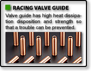RACING VALVE GUIDE